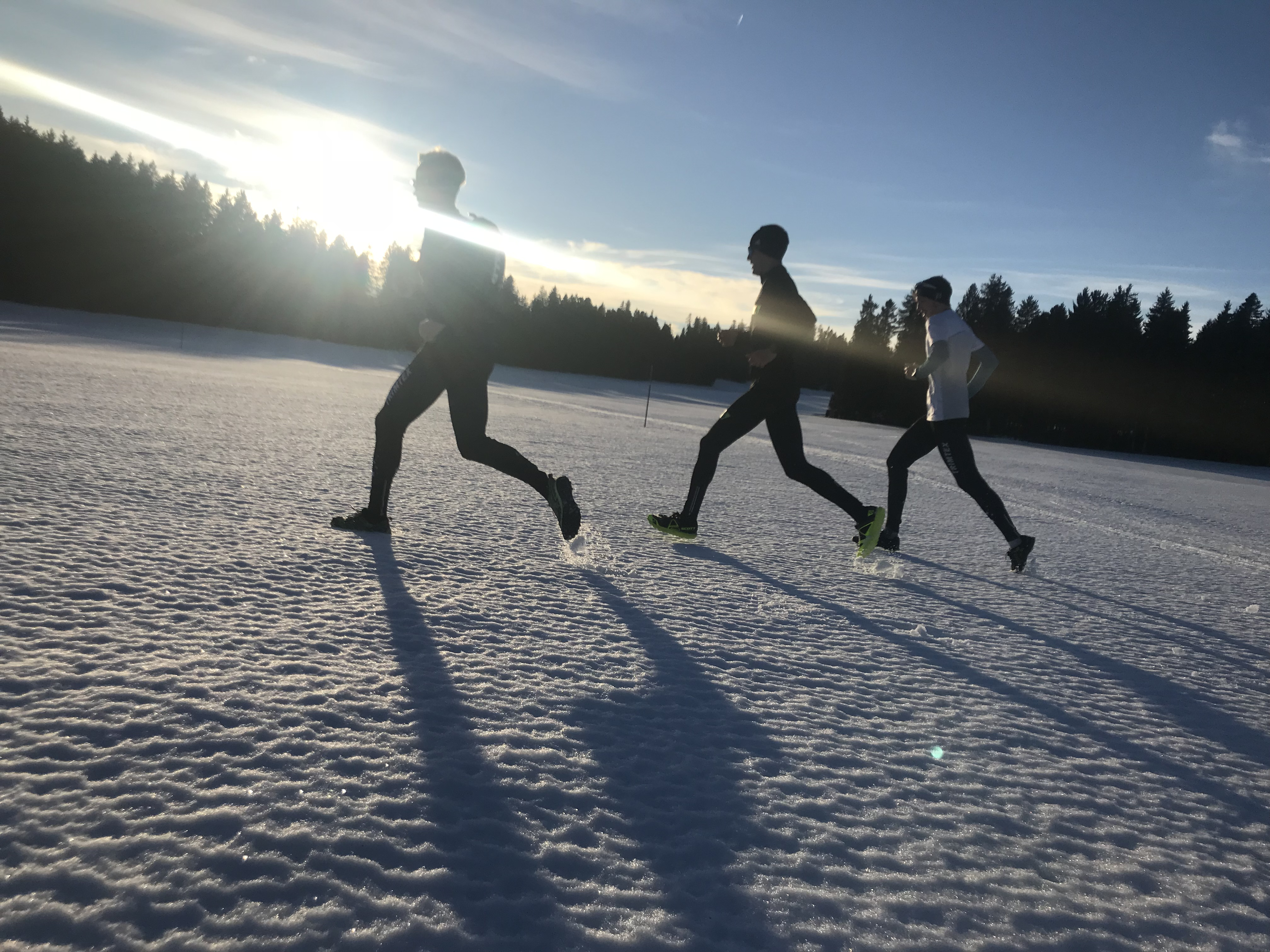 Long jogg